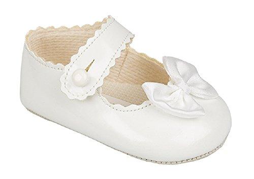 Lusso britannico fatto Carino stile in pelle sintetica decorativa Occasione  speciale occasione di nozze battesimo Scarpe 399967121e2