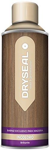 DRYSEAL BZB08 Barniz Exclusivo para Madera, Transparente, 400 ml