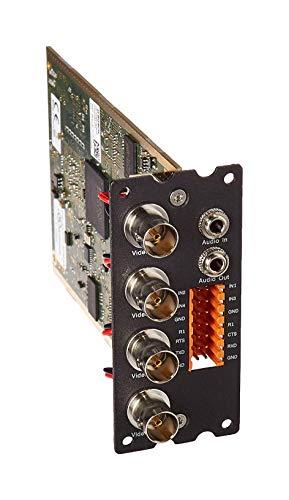 Bosch Security CCTV System VIPX1600XFM4A VIP X1600 XF 4-Kanal Encoder Modul W Audio Bosch Security Dvr