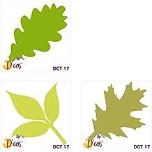 Toga dct17de Cos Trio de hojas de troqueles Metal gris 5x 5x 0,2cm)