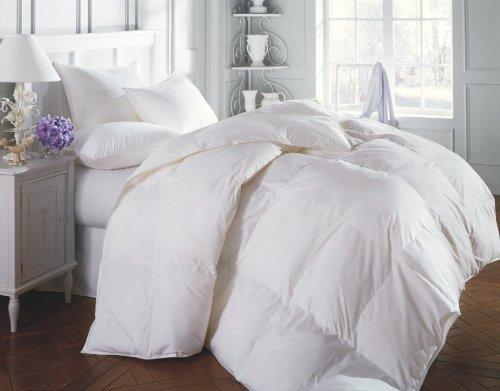 Grand Linen Bettwäsche-Set für King-Size-Betten, weiße Daunen, Weiß, 3-teilig (Grand Bettwäsche Tröster-sets)