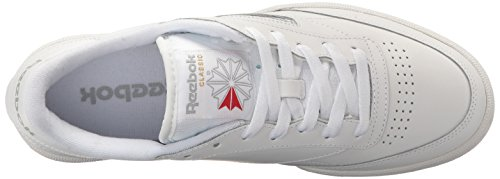 Int Reebok Klassische Sneaker MEMT Club Sheer Grey white nq8IgU
