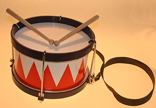 Trommel Karneval rot-weiss, ca. 21x14cm