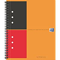 Oxford International Notebook Cahier A4+ Couverture Rigide 80 Pages Ligné 6mm