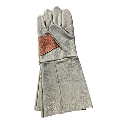 THORN Proof Handschuhe, Rindsleder Leder Rose Beschneiden Ellenbogen Länge Garten-Handschuhe zu schützen Ihre Arme, Nützliche Gartenhandschuhe für Damen Herren Gartenarbeit, Beschneiden, Kommissionieren, Schnitt, Yard Arbeit und so auf (Ellenbogen Länge Handschuhe)