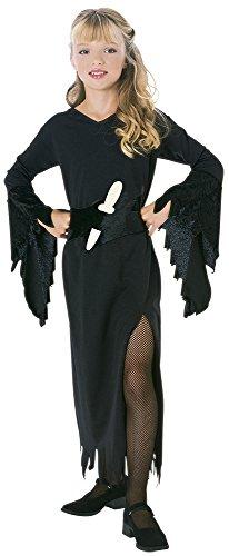 Rubie's Halloween - Kostüm der Tochter der Dunkelheit für Mädchen, Größe M für Kinder von 5-7 Jahren - Dunkelheit Kind Kostüm