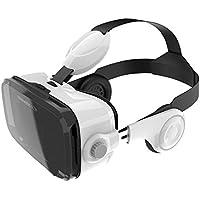 Terratec 218515Audio, 2VR Virtual Reality Occhiali 3d per Smartphone con intergriertem Cuffie Bianco prezzi su tvhomecinemaprezzi.eu