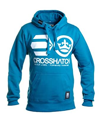 CrossHatch - Mosaic Blue Addswood Hoodie - Mens - Size: L