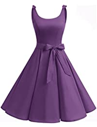 Robe de cocktail violette