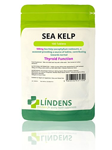 Lindens - Kelp 500mg Tabletten - 100 Stuck