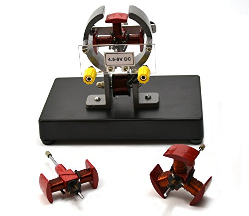 Elektromotor Demostration 2-polig, 3-polig, 4-polig Aramturen