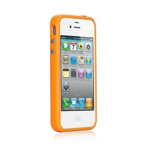 Xcessor Bumper Coque de protection pour Apple iPhone 4 orange