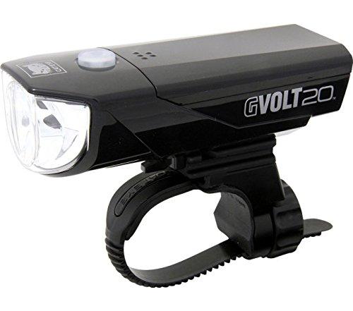 CATEYE Gvolt 20 HL-EL350G (Ohne Batterien) Frontlicht, Schwarz/Rot, One Size