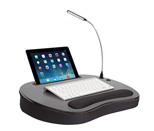 Sofia+Sam Lapdesk con USB de luz, Tablet, Smartphone, portátil Trabajo,...
