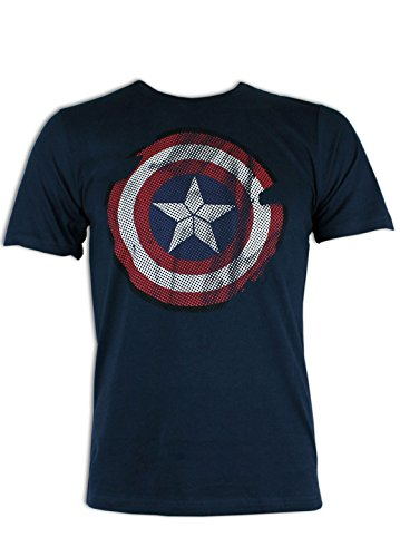 the-avengers-captain-america-t-shirt-homme-xlarge