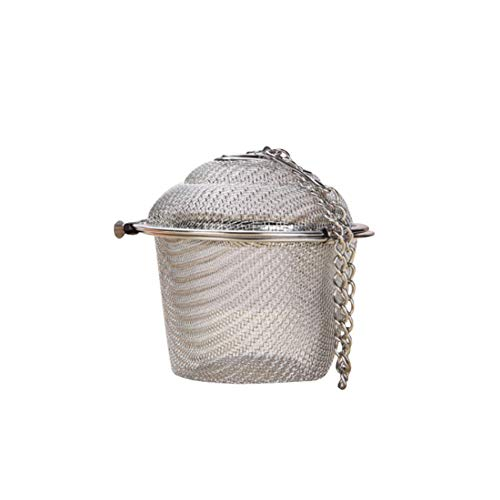 Teesieb-Teefilter Ultrafeine Edelstahl-Siebbecher zum Einweichen von losem Tee und Kaffee