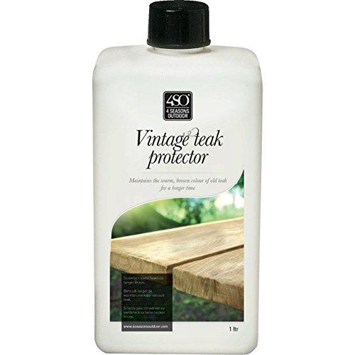 4Seasons Vintage Teak Protector recyceltes Teak Pflegemittel auf Wasserbasis