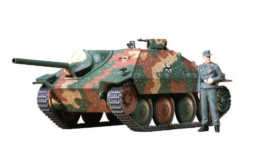 TAMIYA 300035285 - 1:35 WWII Deutsche Jagdpanzer Hetzer, 38 ton (1) - 38 1 35 Panzer