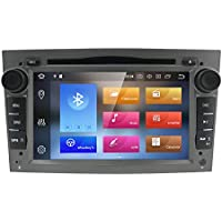 Grey Android 8.0 Quad Core System 4GB RAM GPS Navigation Car DVD Player for Opel Vauxhall