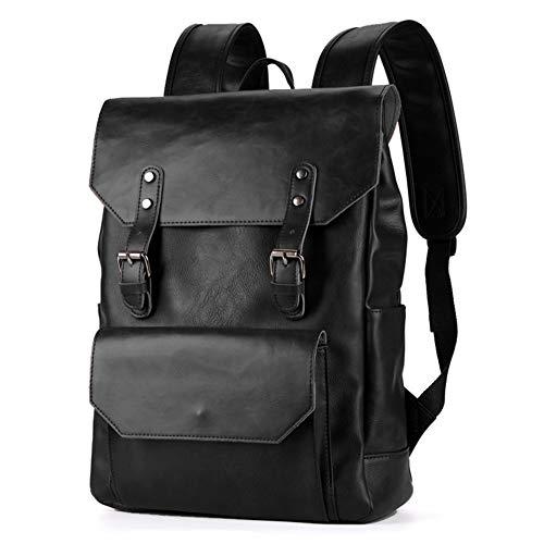 Vintage Herren Tasche Leder Rucksack College, Schule, Rucksack, Reisetasche, Komfortable Tasche