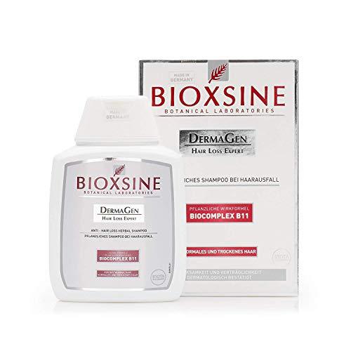 BIOXSINE Shampoo für normales und trockenes Haar - gegen Haarausfall bei Frau und Mann | mit pflanzlichem Haarwaschmittel das Haarwuchs beschleunigen | schnelles Haar-wachstum 100 ml -