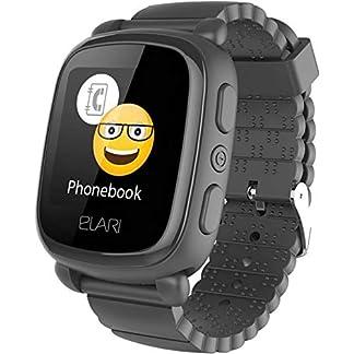 Elari KidPhone 2 Reloj Inteligente Negro TFT 3,66 cm (1.44″) Móvil GPS (satélite) – Relojes Inteligentes (3,66 cm (1.44″), TFT, GPS (satélite), Móvil, Negro)