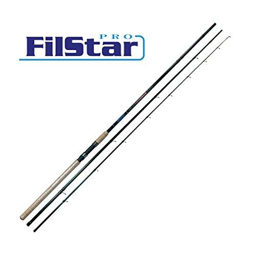 """FILSTAR PRO X-TREME SUPER MATCH"" 3,90m Carbon Matchrute 210g / Wg10-30g / 13 SIC Ringe"