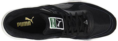 Puma Unisex-Erwachsene R698 On White Sneaker Schwarz (Black-Black)