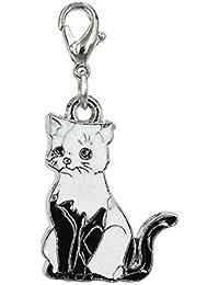 Charm Katze aus Stahl von Charming Charms