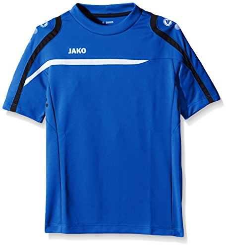 Jako Performance T-Shirts-Tanks-Kinder, royal/Weiß/Marine, 128