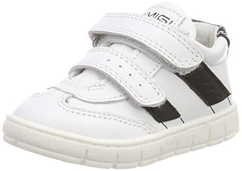 PRIMIGI Unisex Baby PAW 34134 Sneaker, Weiß (Bianco/Nero 3413444), 26 EU