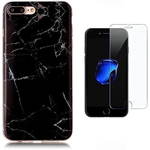 Custodia iPhone 7 Plus [Pellicola Protettiva in