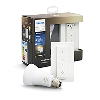 Philips Hue Smart Dimmable LED Smart Light Recipe Kit (Compatible with Amazon Alexa, Apple HomeKit and Google Assistant)