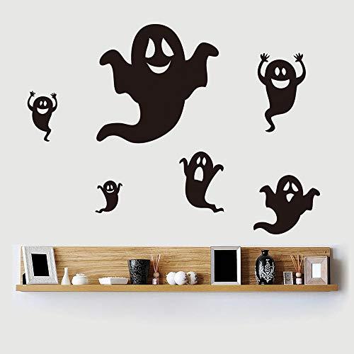 Diy halloween wandaufkleber wohnkultur halloween geist schwarz wandaufkleber fenster wandaufkleber wohnzimmer halloween - Halloween-geister-baum Diy