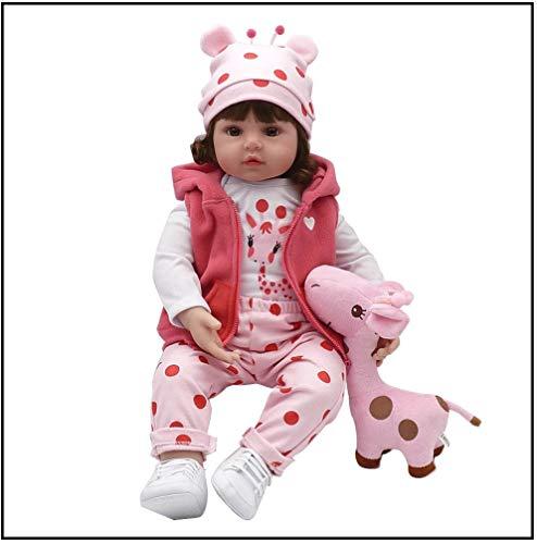 Exing Baby Reborn Muñecas Reborn Realistic Baby,Un Compañero de Sueño Perfecto Para los Bebés