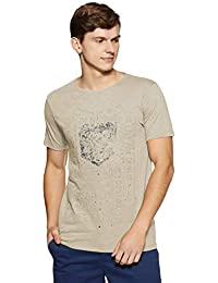 KILLER Men's Checkered Slim Fit T-Shirt