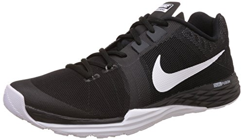Nike Train Prime Iron Df, Chaussures de Gymnastique Homme Noir - Negro (Black / White-Anthracite-Cl Grey)