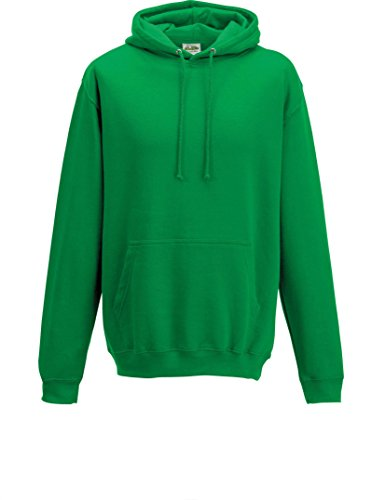Just Hoods College Hoodie, Kelly Green, XXL (Green Kelly)