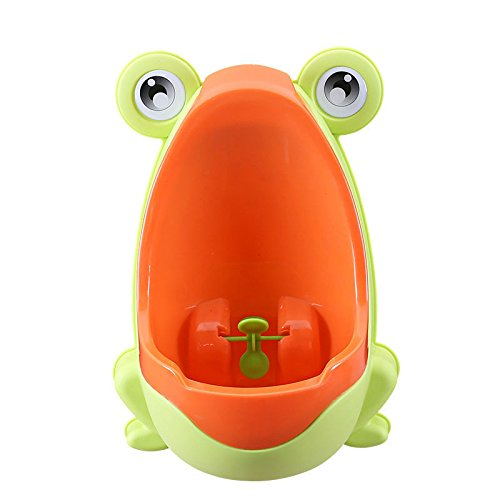 Urinoir de bebe toilette Pot Potty Children Frog Pee Trainer de Salle Colorful Frog Boys Urinoir de formation toilette de bébé par le soleil D pot de toilette bebe (yellow)