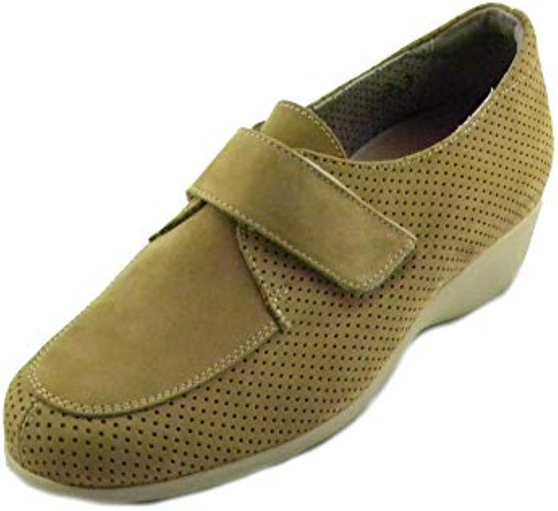 CAMMINARE E VIVERE fratelli tomasi Scarpa Comoda Donna per Plantari Yara Taupe e0208 | Costi Moderati  | Uomo/Donne Scarpa