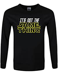 T-Shirt à manches longues It's Not The Same Thing Homme Noir