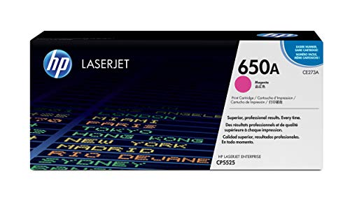 HP 650A (CE273A) Rot Original Toner für HP Color Laserjet Enterprise M750, HP Color Laserjet Enterprise CP5525