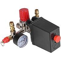 Interruptor de Presión de Compresor de Aire Válvula de Seguridad de Doble Calibre Control de Presión