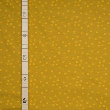 Konfetti - Pastell Senf - Jersey (Diy Senf Kostüm)