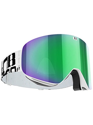 BLIZ PROTECTIVE SPORTS GEAR Herren Schneebrille Flow White (+Bonus Lens) Goggle