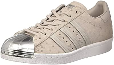 adidas Superstar 80s Metal Toe W Calzado 4,0 grey/silver