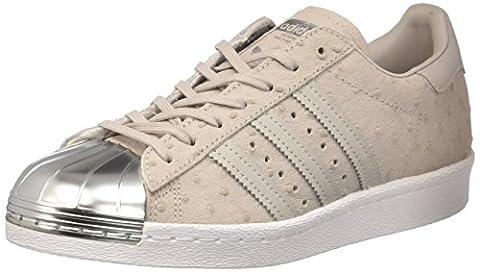 adidas Superstar 80s Metal Toe W chaussures, Gris, 38 EU