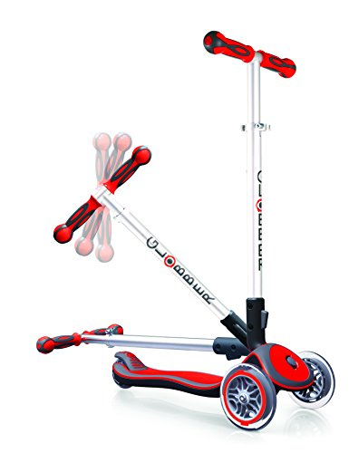 authentic sports & toys GmbH GLOBBER MY Free Fold UP / ELITE S, rot/grau -