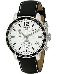 Tissot Hombre t0954171603700Quickster Analog Display reloj negro de cuarzo suizo