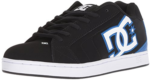finest selection 36ee0 5f2e8 DC Shoes Men s Net Low Top Sneaker Shoes Black Blue 11
